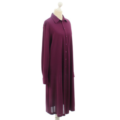 Jean Paul Gaultier Shirt jurk in paars
