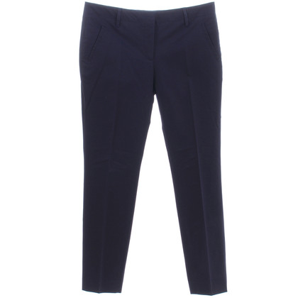 Burberry Pantaloni slim fit in blu