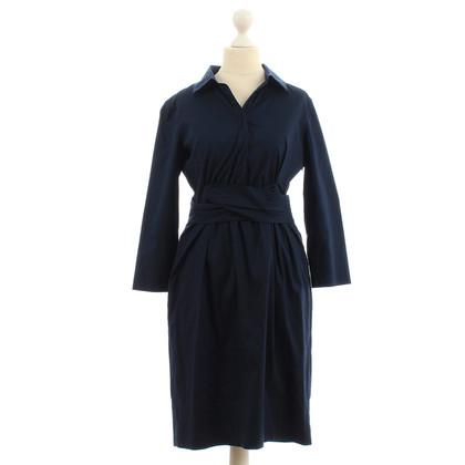 Donna Karan Donker blauwe jurk