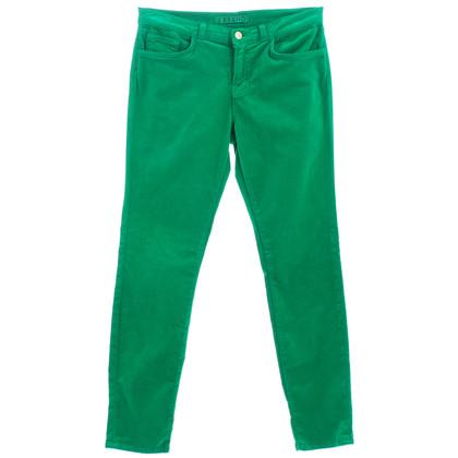 J Brand Pantaloni di velluto verde
