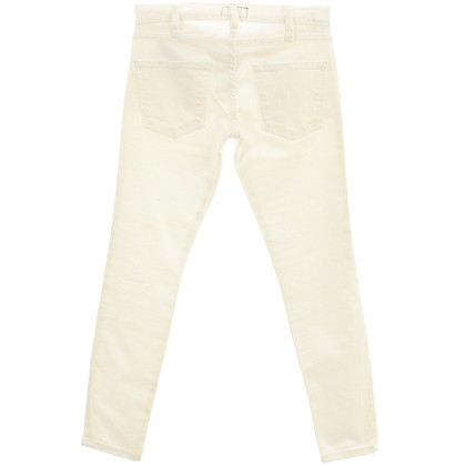 Current Elliott Skinny jeans in white
