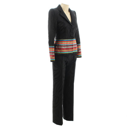 Rena Lange Tailleur pantalone con strisce