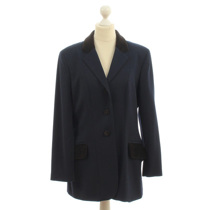 Moschino Dark blue long Blazer