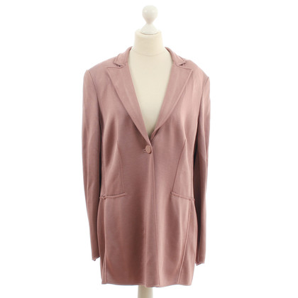 Armani Long Blazer in dusty pink