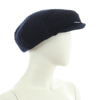 B Private Flat CAP in dark blue