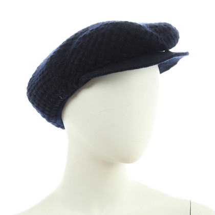 B Private Platte CAP in donkerblauw