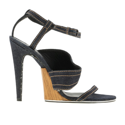 Bottega Veneta Strappy sandaal in denim