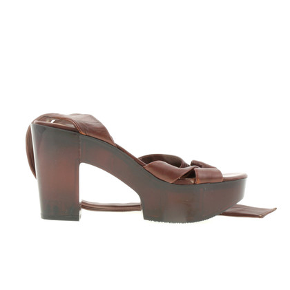 Robert Clergerie Plateau sandals