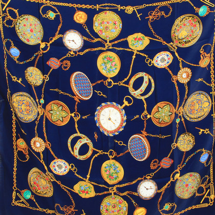 Gucci Silk scarf with watches