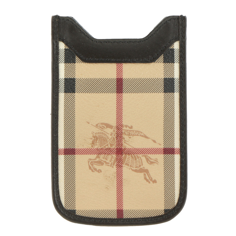 Burberry Mobile phone case with check