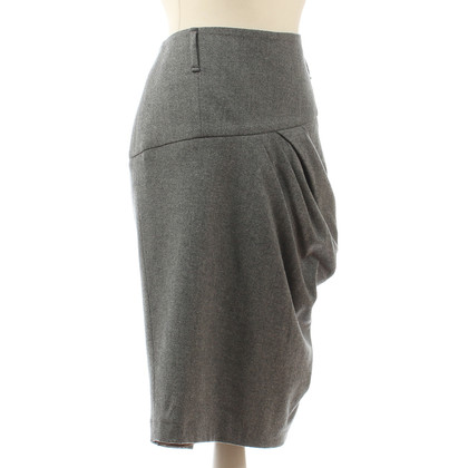 Brunello Cucinelli Grey skirt