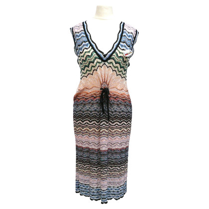 Missoni Knit dress with silk dress