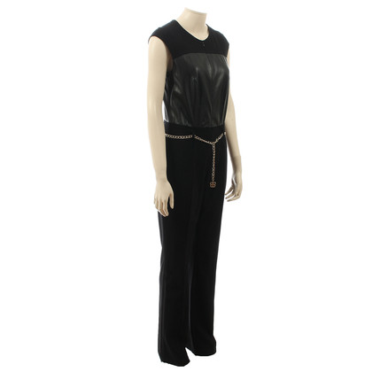 Basler Black jumpsuit with chain