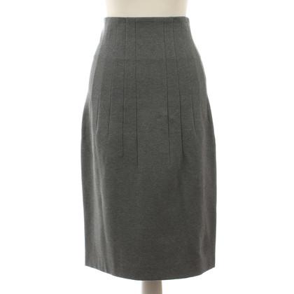 Gunex Grey Pencilskirt