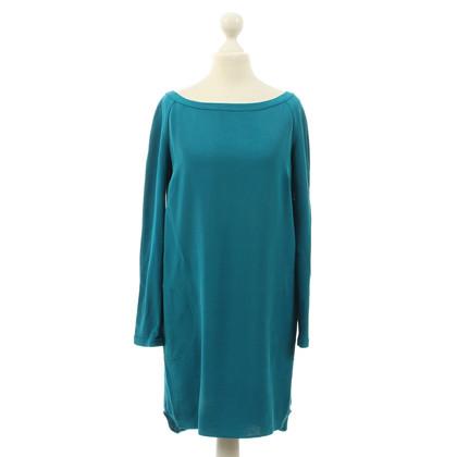 Joseph Robe de soie en bleu-vert