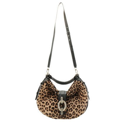 Diane von Furstenberg Hobo Bag in Animal-Optik