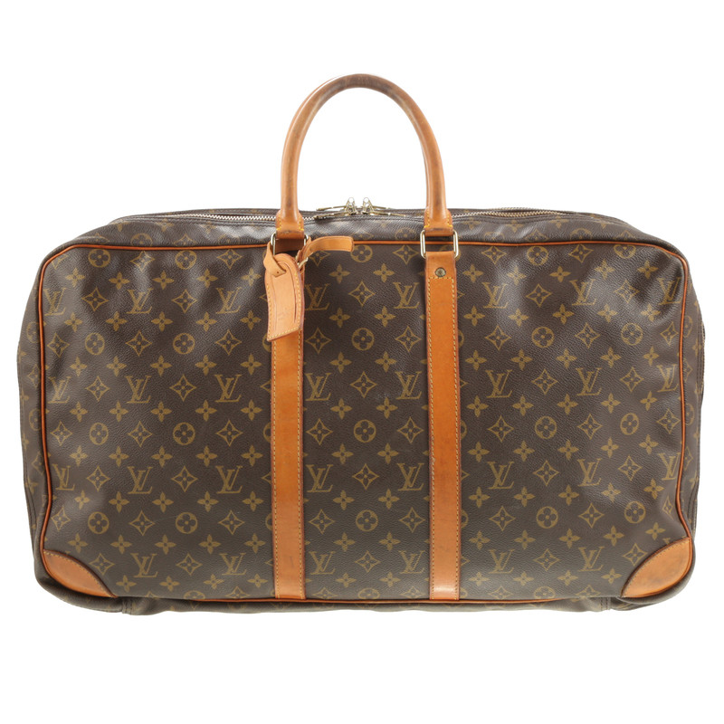 louis vuitton reisetasche in monogram second hand louis vuitton reisetasche in monogram. Black Bedroom Furniture Sets. Home Design Ideas