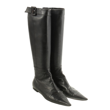 Roger Vivier Lace leather boots
