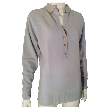 Chanel Pastel blue cashmere sweater
