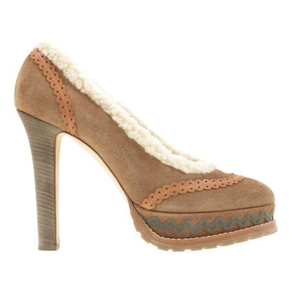 Philosophy di Alberta Ferretti Plateau-pumps in beige