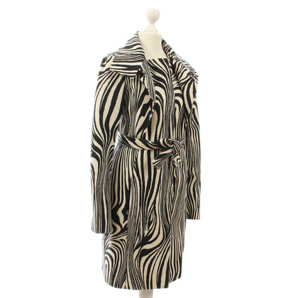 Versace Coat zebra design
