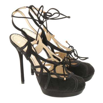 John Galliano Black sandal