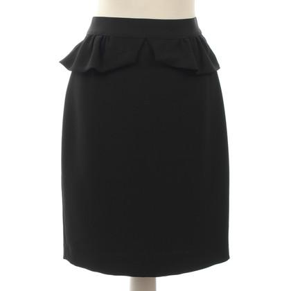 Sandro skirt with peplum