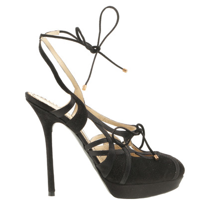 John Galliano Black sandal
