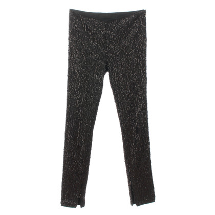 Karl Lagerfeld Sequin pants in black