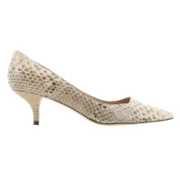 Pura Lopez Pumps snake leather