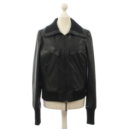Michalsky Black leather jacket