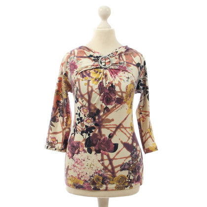 Just Cavalli T-shirt con stampa floreale