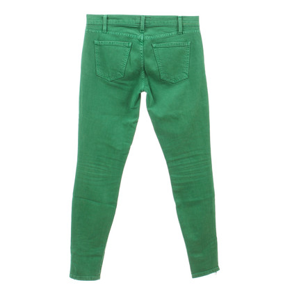 "Current Elliott Jeans ""The Ankle Skinny"" green"