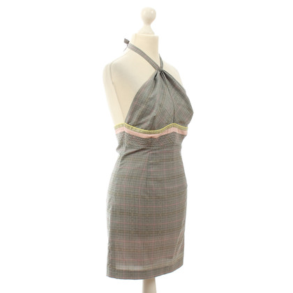JOOP! Halter dress with plaid pattern