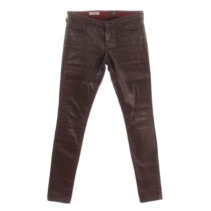 Adriano Goldschmied Skinny jeans in Bordeaux