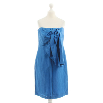 Hugo Boss Bustier dress in Royal Blue
