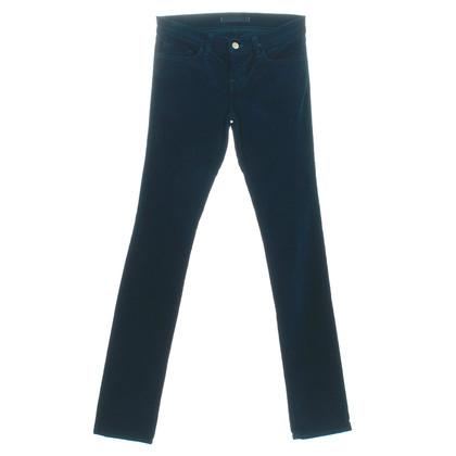 "J Brand Hose ""Pencil Leg"" Riviera Blue"