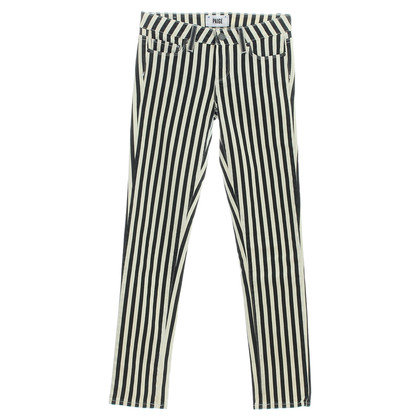 Paige Jeans Skinny Jeans with stripe