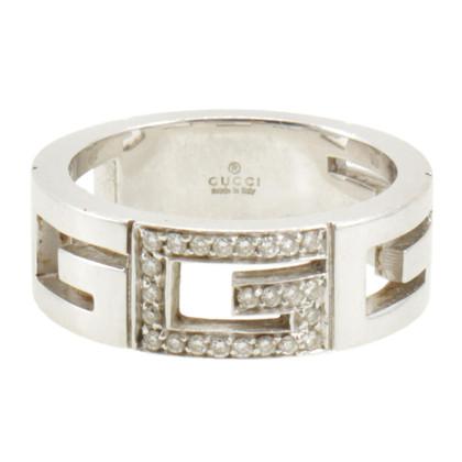 Gucci Ring aus Weißgold