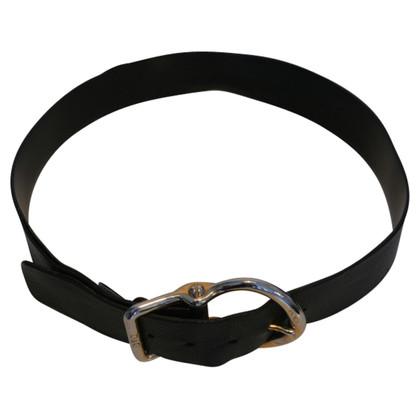 Dolce & Gabbana Cintura in pelle con fibbia grande