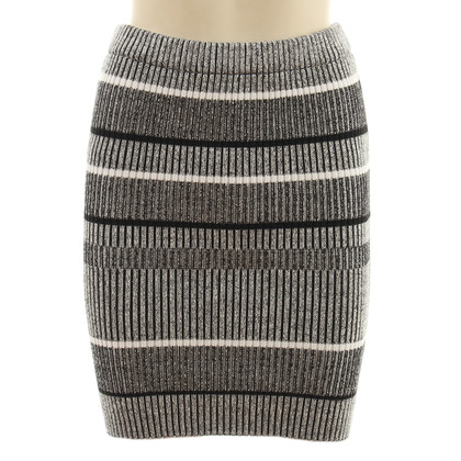 Alexander Wang Striped Stretch-skirt