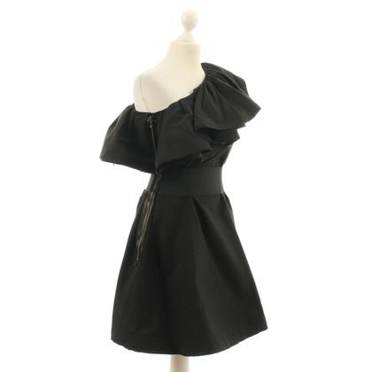 Lanvin for H&M Zwarte jurk een-schouder