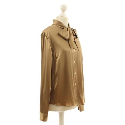 Ralph Lauren Button blouse silk