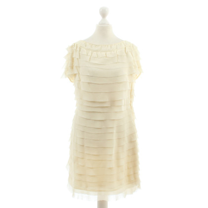 Paul & Joe Flounce dress in off-white