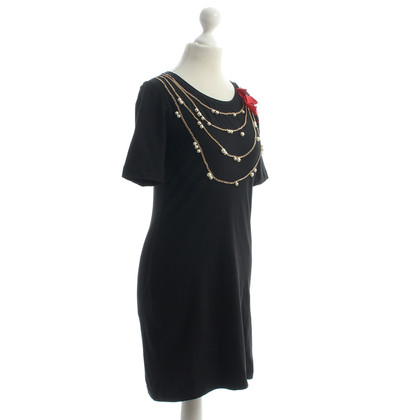 Moschino Dress with beaded necklaces