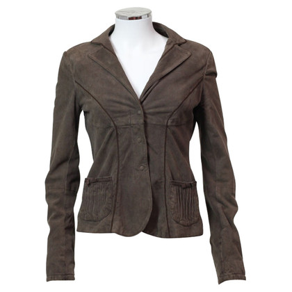 Armani Brown suede jacket