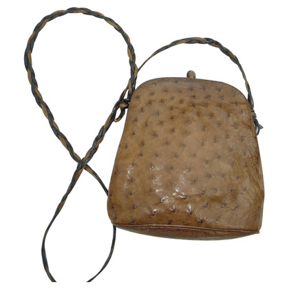 Jil Sander Vintage bag made of ostrich leather