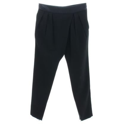 Givenchy Pantaloni in lana e seta