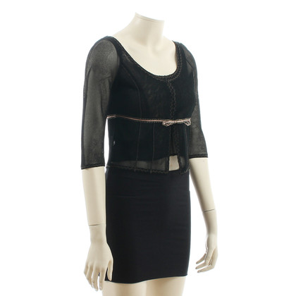 Alberta Ferretti Twinset in black