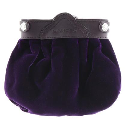 Lancel Small bag pouch made of velvet